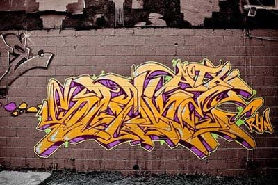 Wildstyle Graffiti
