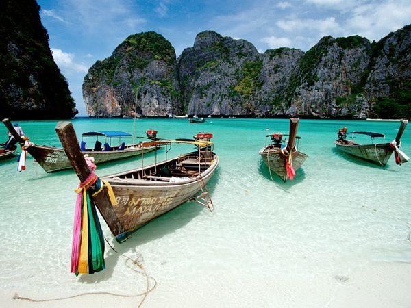 paisaje costero en tailandia