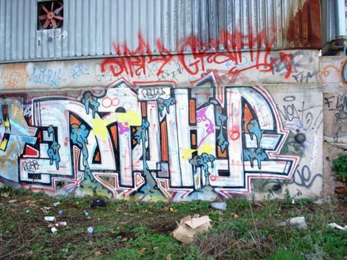 Dirty graffiti