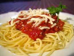 pastas Spaghetti