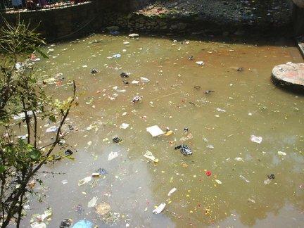contaminación agua contaminantes físicos