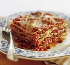 pastas Lasagna