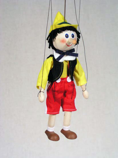 titeres marioneta